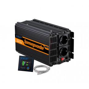 Invertteri 2000W / 4000W 12V 230V + Kaukosäädin