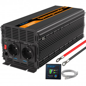 Invertteri 3000W / 6000W 12V 230V