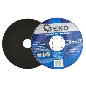 Katkaisulaikka metallille GEKO 125 x 1mm, 10 kpl