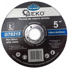 Katkaisulaikka metallille PRO 125 x 1,6 mm, 10 kpl